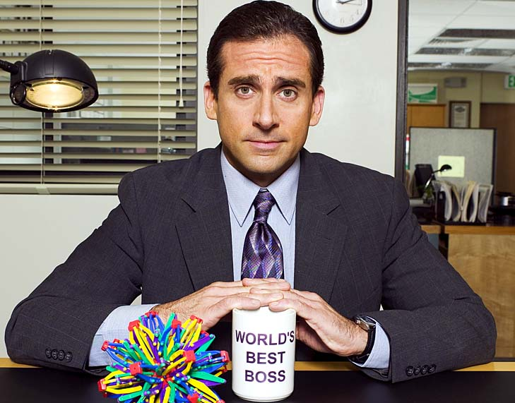 THE OFFICE -- Pictured: Steve Carell as Michael Scott -- NBC